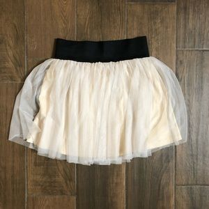 MUMU tulle mini skirt